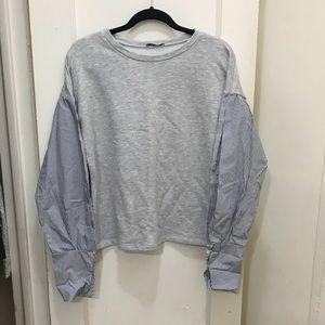 Zara Sweater Blouse